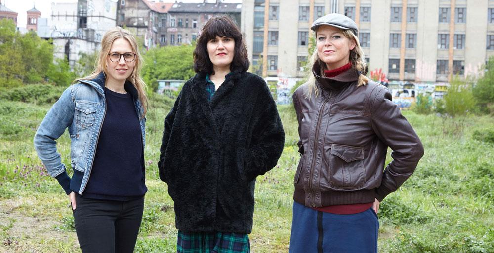 Das Leitungsteam von ACT (von links Anna Maria Weber, Stefanie López, Maike Plath) © Maria Zillich