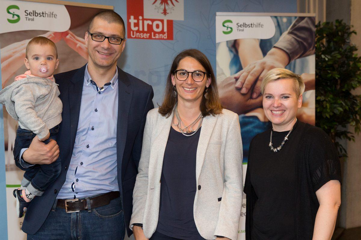 Tag der Selbsthilfe - LOYCOS-Team mit Barbara Vantsch